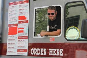 SWAT Food - Side Image of Truck with Dan